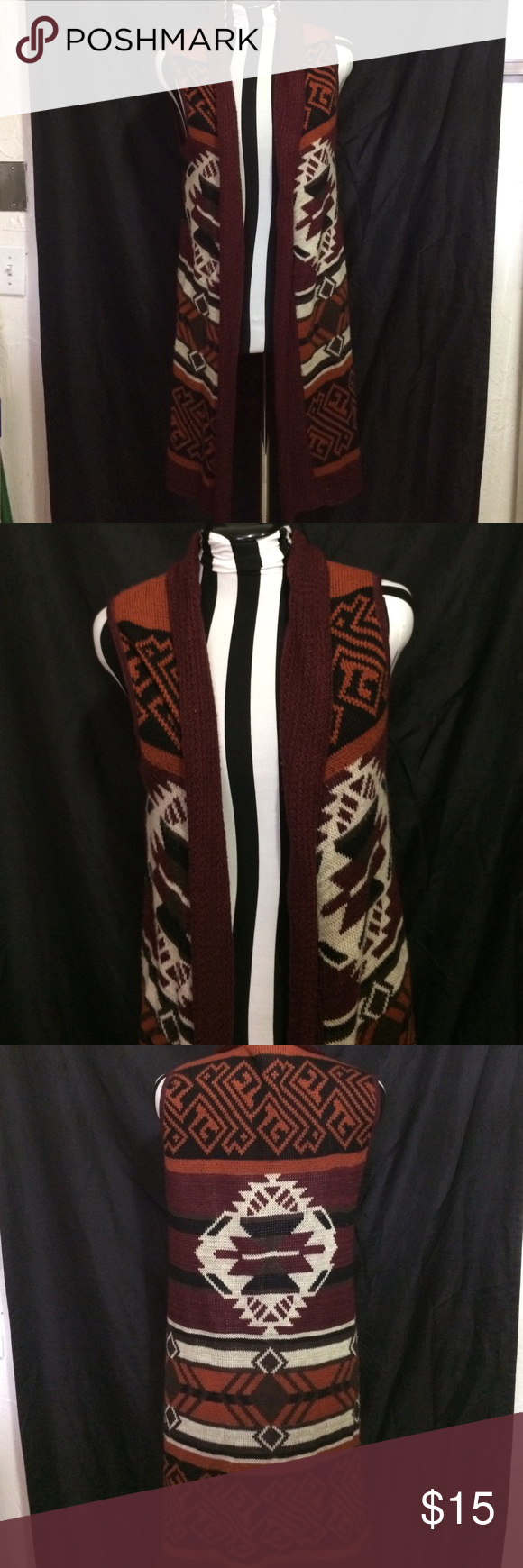 Buckle Daytrip sleeveless duster cardigan This duster cardigan has ...