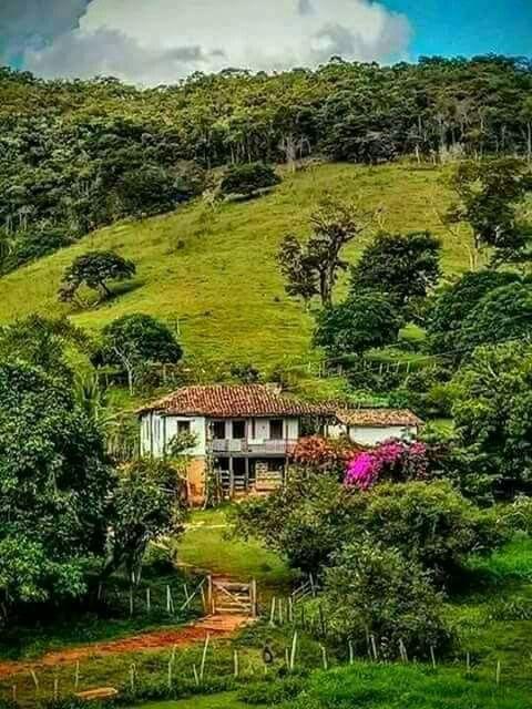 Saudade Lindas Paisagens Casas Bonitas Casas De Fazenda Antigas