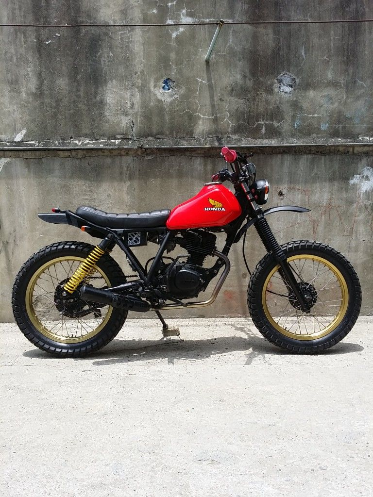 Bike Feature Revolt Cycles Honda Xl125 Rvlt08 Custom Cafe Racer Cafe Racer Honda Dirt Bike