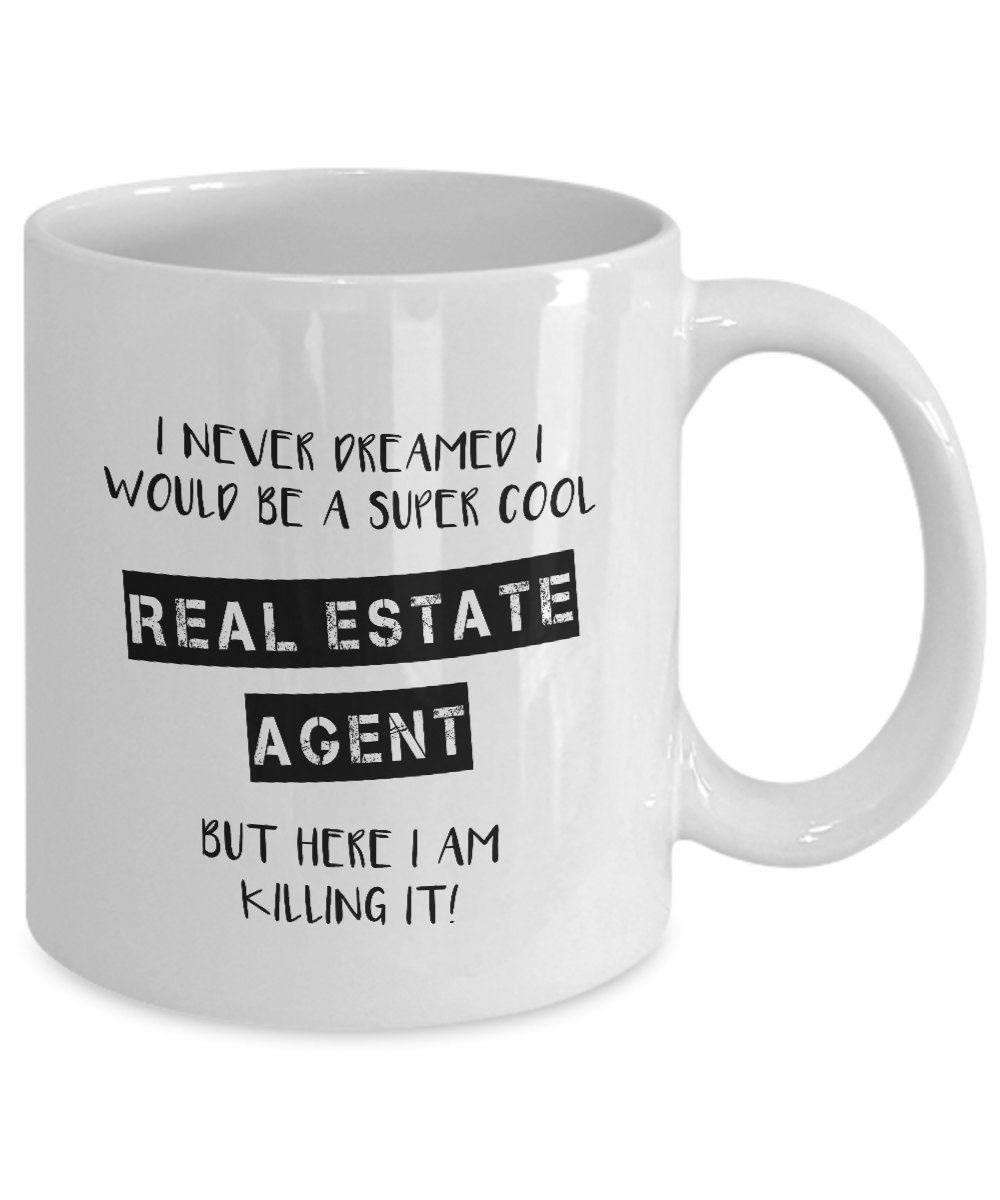 Real Estate Agent Coffee Mug Realtor Gift Real Estate Pastors Appreciation Gifts For Pastors Pastor Appreciation Gifts