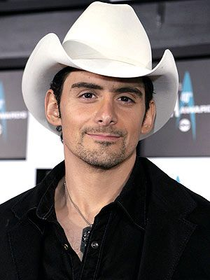 Mr. Brad Paisley. I've been listening to him literally as long as I can remember (: He's hilarious and is so normal and down to earth! I love him!