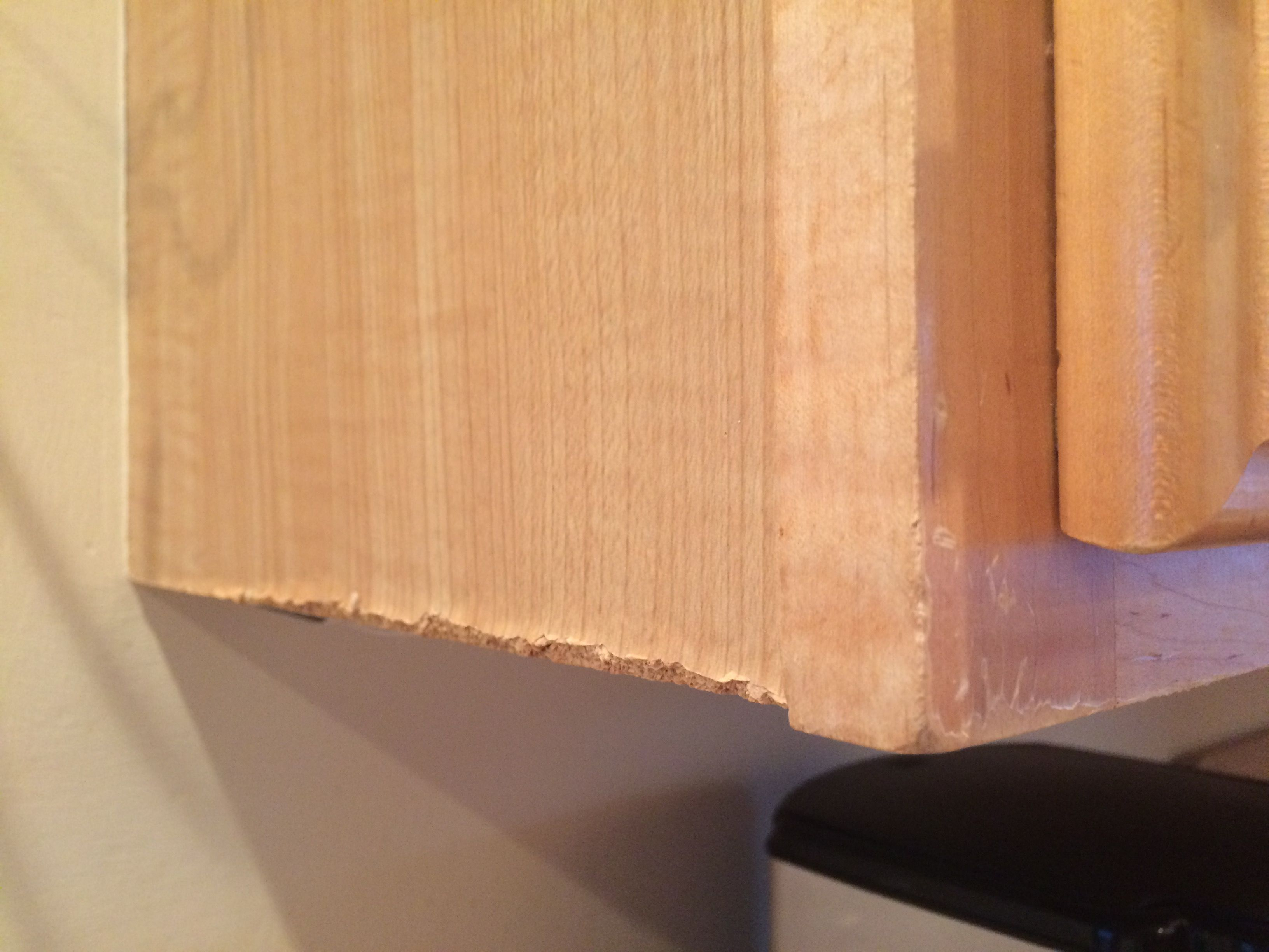 How To Restore A Peeling Kitchen Cabinet Refinishing Cabinets