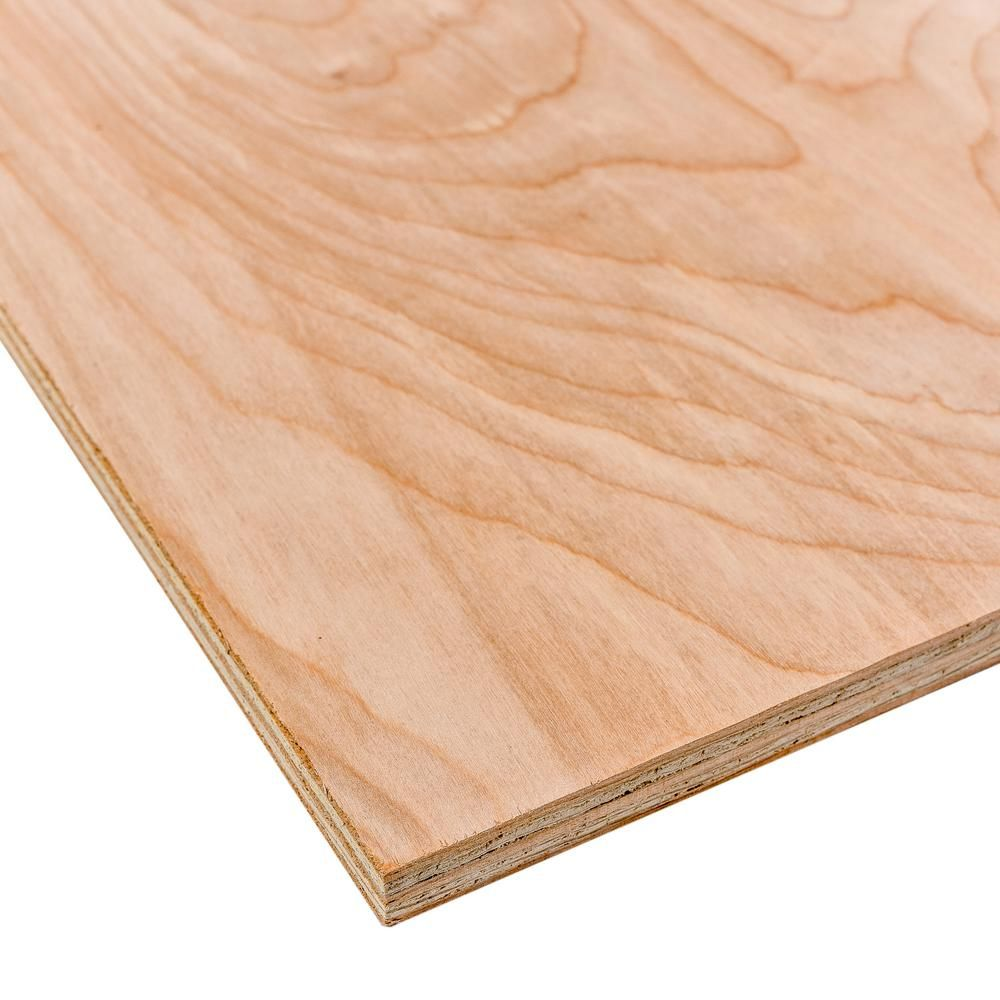 Dimensions Birch Plywood Common 3 4 In X 2 Ft X 4 Ft Actual 0 728 In X 23 75 In X 47 75 In 225451 Hardwood Plywood Plywood Oak Plywood