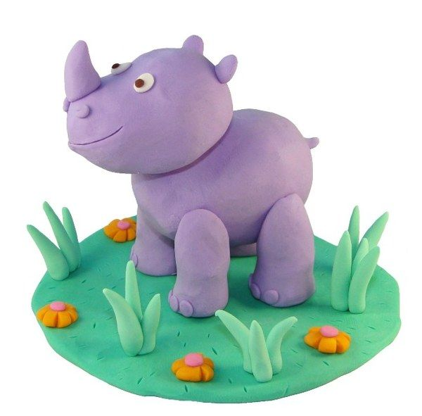 rhino in modeling clay on behance something awesome clay clay