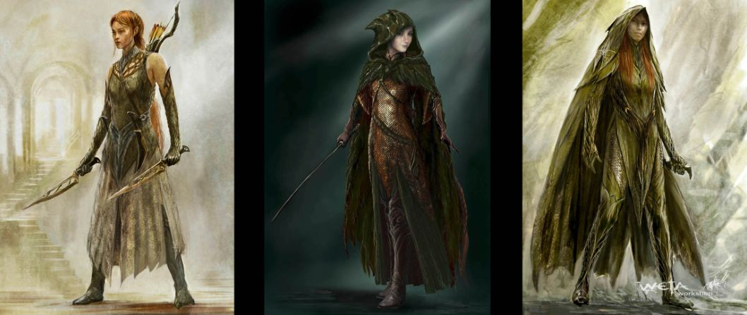 Concept Design for The Hobbit - The Desolation of Smaug // Weta