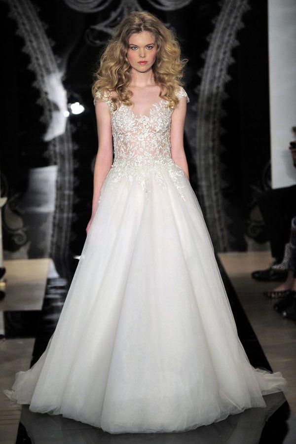 Reem Acra 2014 Bridal Collection | onefabday.com