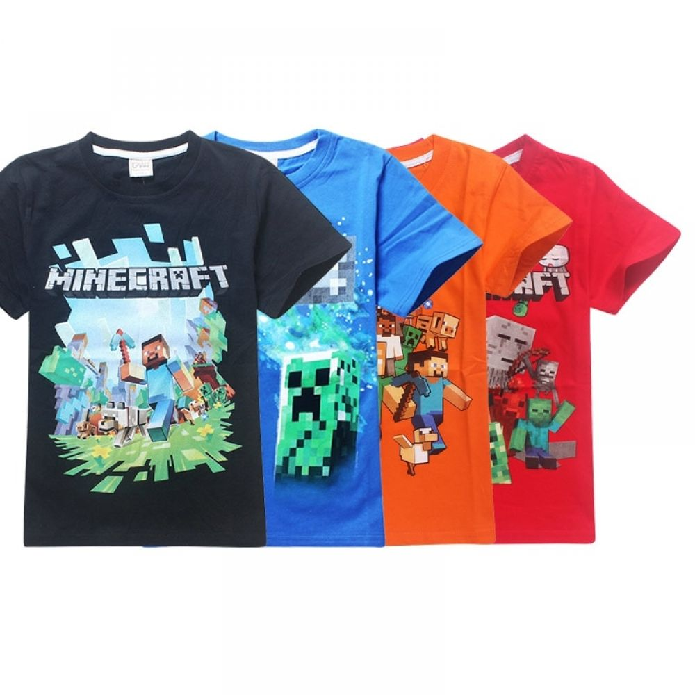 3d Minecraft Roblox T Shirt For Girls 6 14y Price 6 99 Free