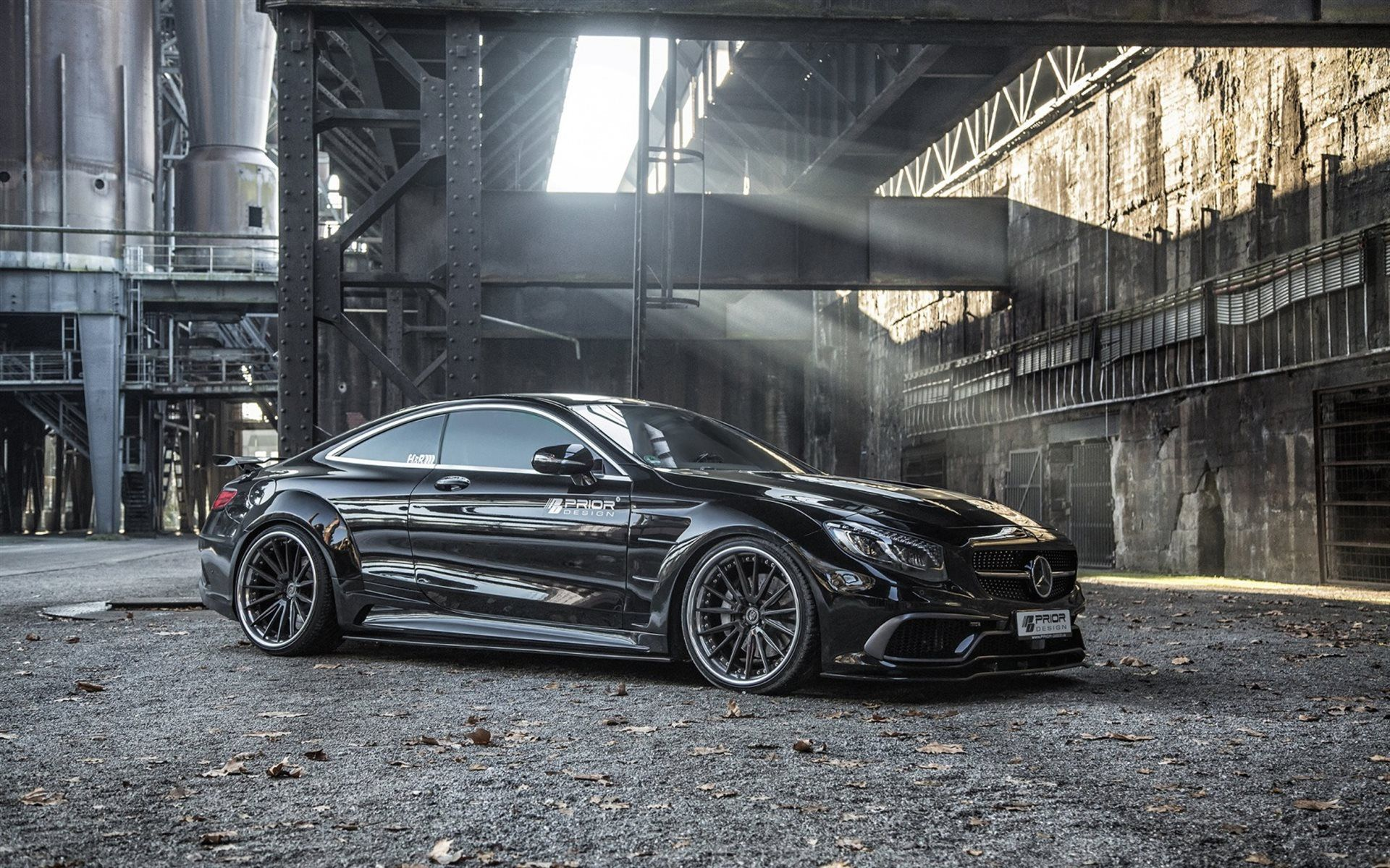 Download Wallpapers Prior Design Tuning 2016 Cars Mercedes Benz S
