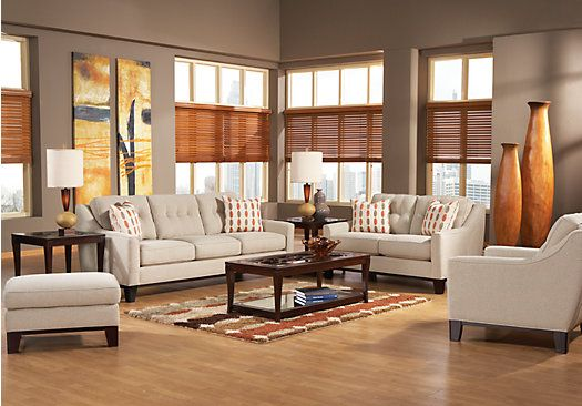 Shop for a cindy crawford home hadly 7 pc living room at rooms to go find living room sets that for Rooms to go cindy crawford living room