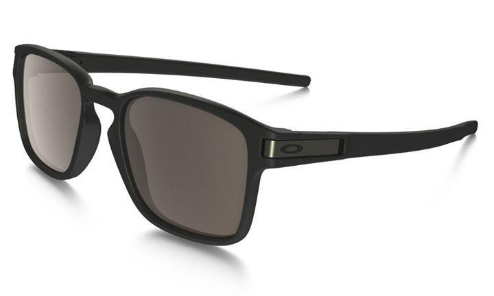 6dbd7e97c9 Oakley Shades Latch Squared Matte Black Warm Grey Skate Bmx Sunglasses