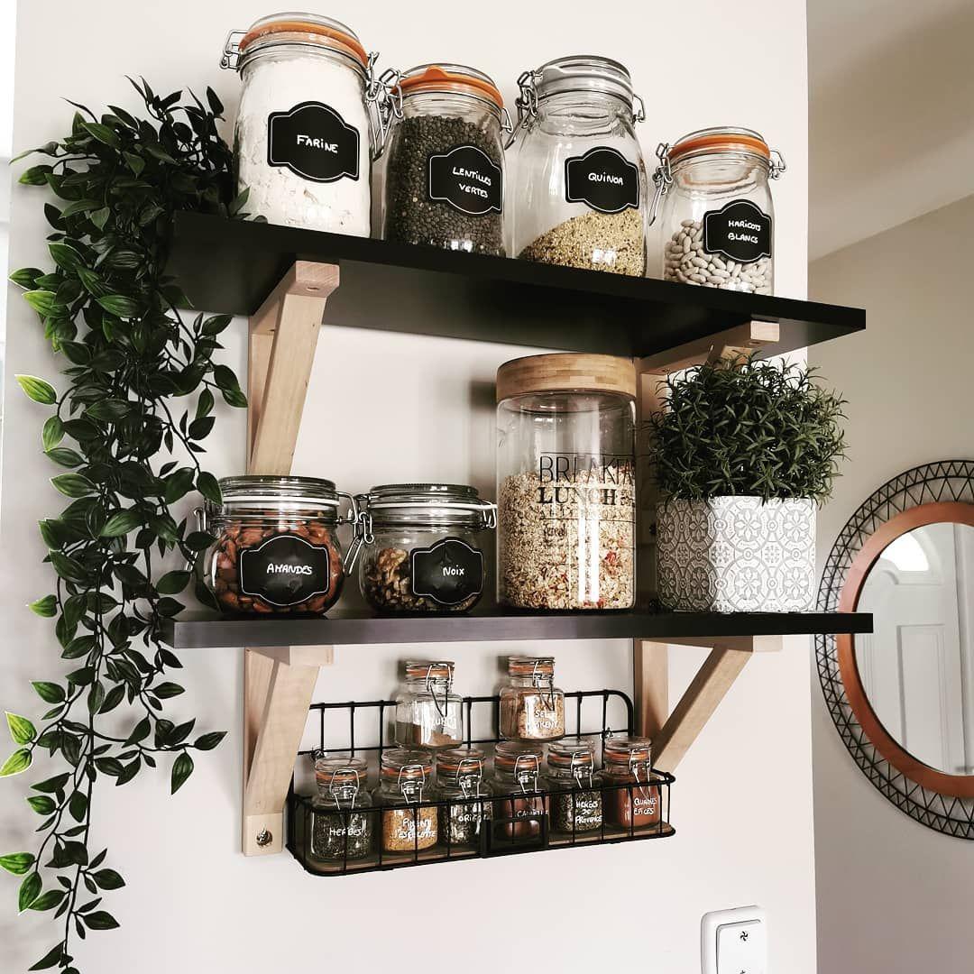 19 idées pour décorer votre cuisine avec des bocaux en 19
