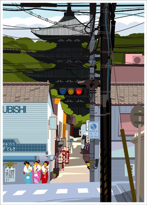 Gaku Nakagawa #illustrazione #giappone