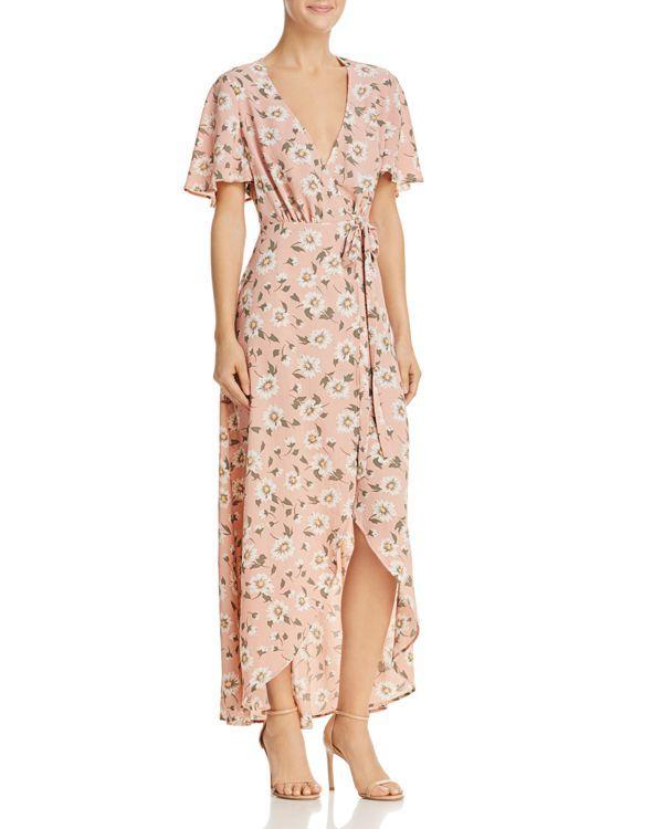 adfec8da7e1 Show Me Your MuMu Marianne Maxi Wrap Dress - 100% Exclusive ...