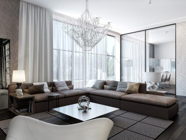 17 Fascinating Modern Curtains Designs To Refresh Your Living Room Curtains Living Room Modern Living Room Blinds Living Room Modern Modern curtain for living room