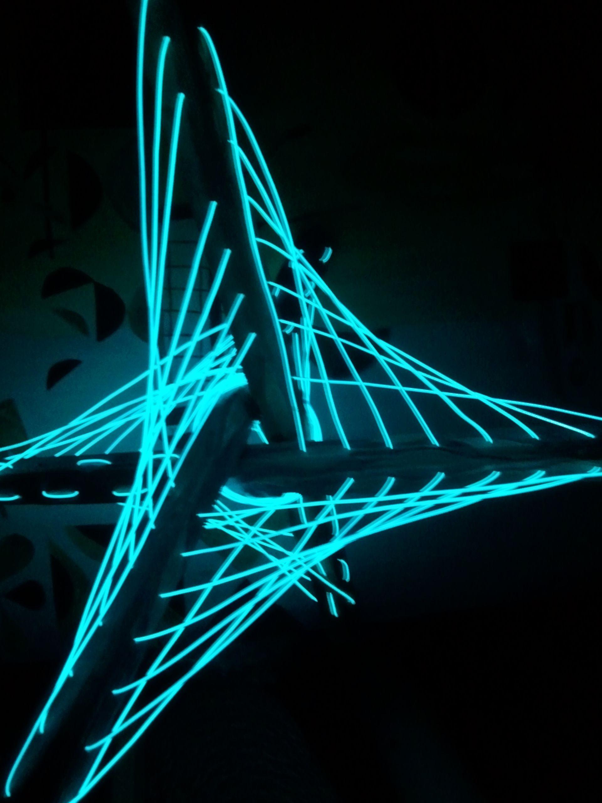Made 2012, El lights, El Wire, contemporary art. | El wire ...