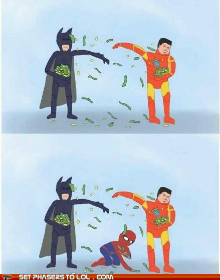 Money Fight, Iron Man vs. Batman