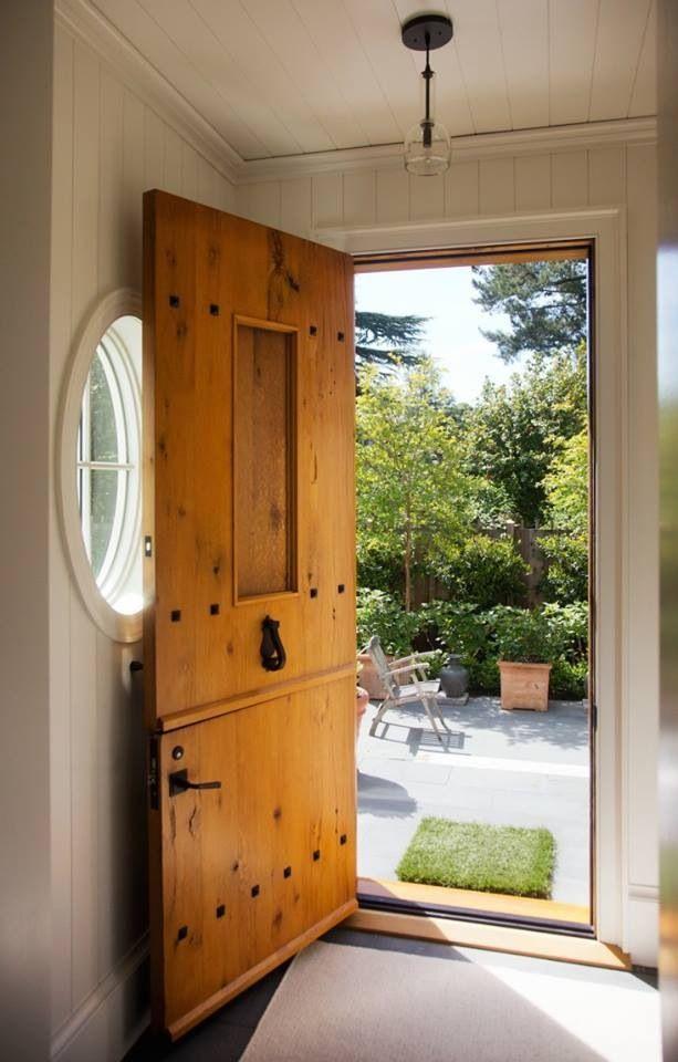 Dutch Door Idea