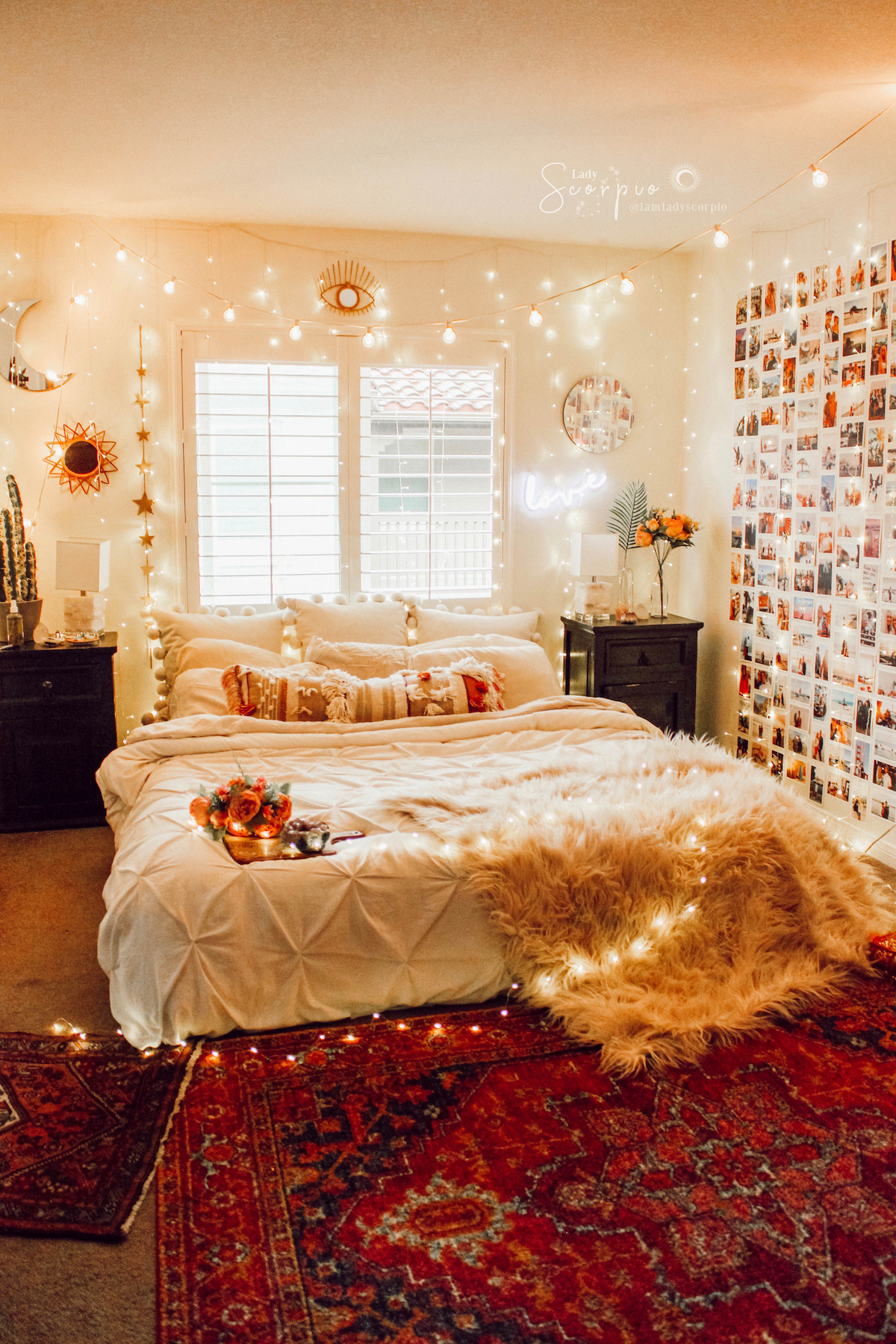 stargazer wall hanging decor in 2020 luxurious bedrooms on cute bedroom decor ideas for teen romantic bedroom decorating with light and color id=48588