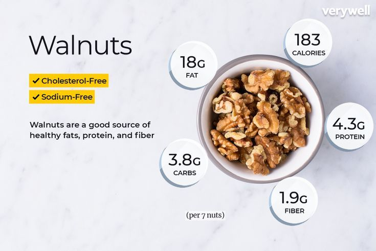 Walnuts Nutrition Facts: Calories and Health Benefits #walnutsnutrition