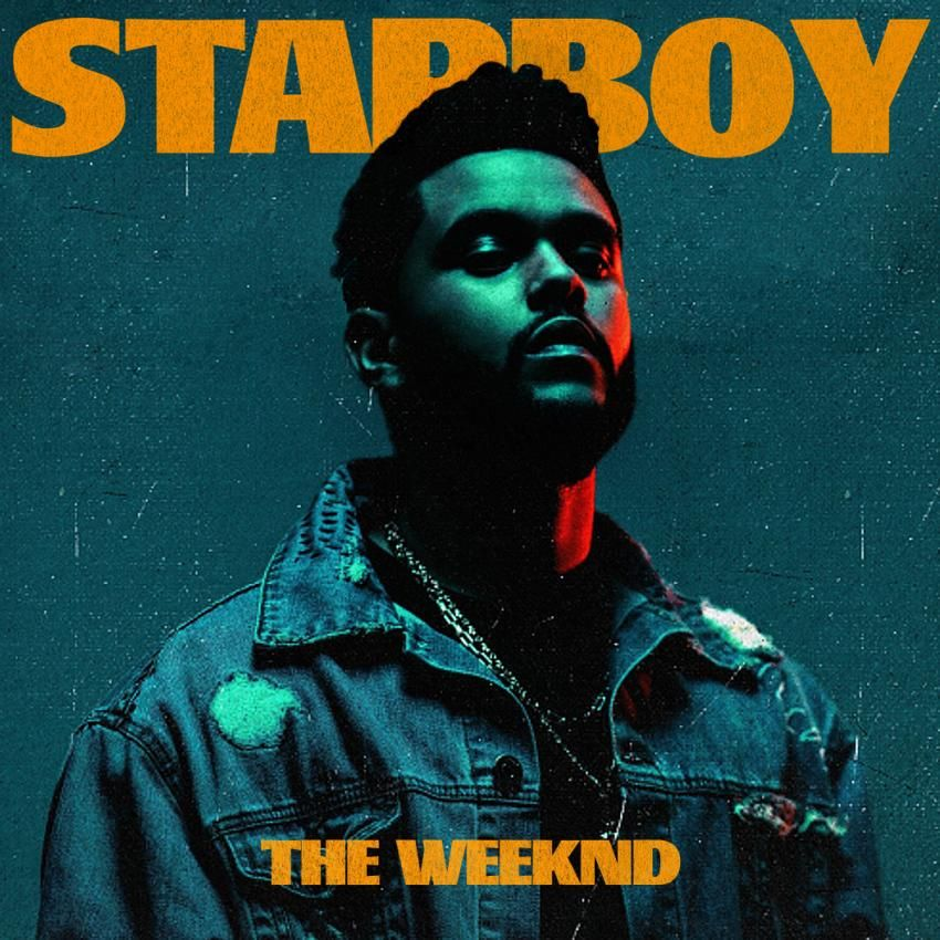 """The Weeknd '2016 """"Starboy"""" (album cover) The weeknd"""