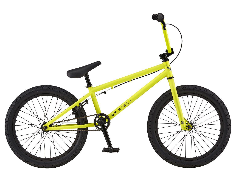 """2016 GT Air 20"""" Nuclear Yellow Bmx, Bmx bikes, Bike"""