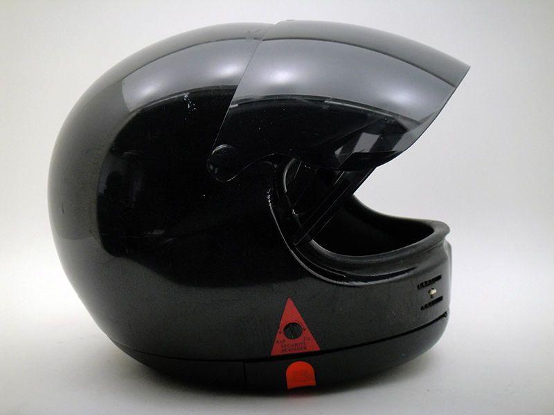 Gpa Sj Twin Lock Helmet Vintage Motorcycle Replica Classic Black F1