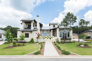 Transitional Exterior Design Ideas, Pictures, Remodel and Decor
