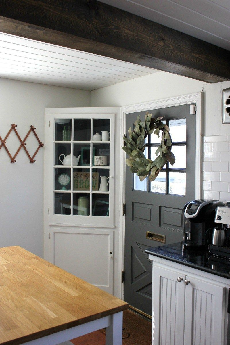 Kendall Charcoal Kitchen Door Gray Ideas Doors To Outside