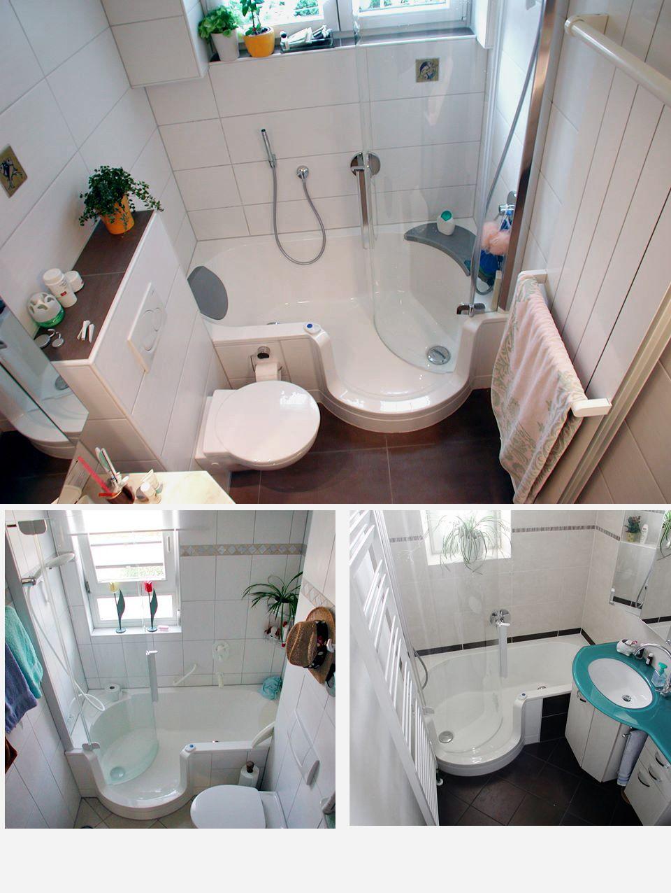 Die 20 besten Ideen zu Kleine Badezimmer   mit Badewanne   kleine ...