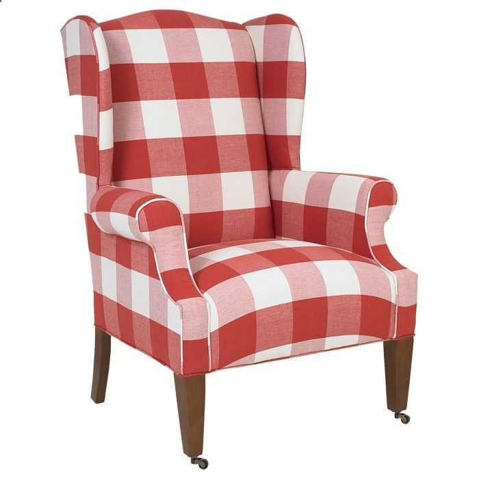 Buffalo Check Chairs Found On Home 2 Me Com Plaid Chair Red
