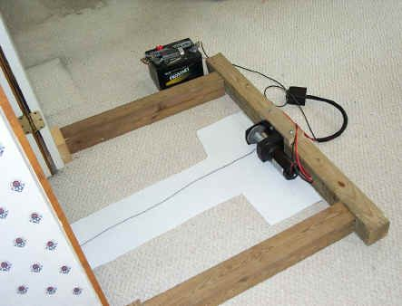 how to make an elevator with a winch