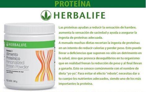 La proteina de herbalife sirve para bajar de peso