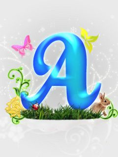 Letter A abstract wallpaper for mobile phone | A is for Antoinette... | Pinterest | Wallpaper ...