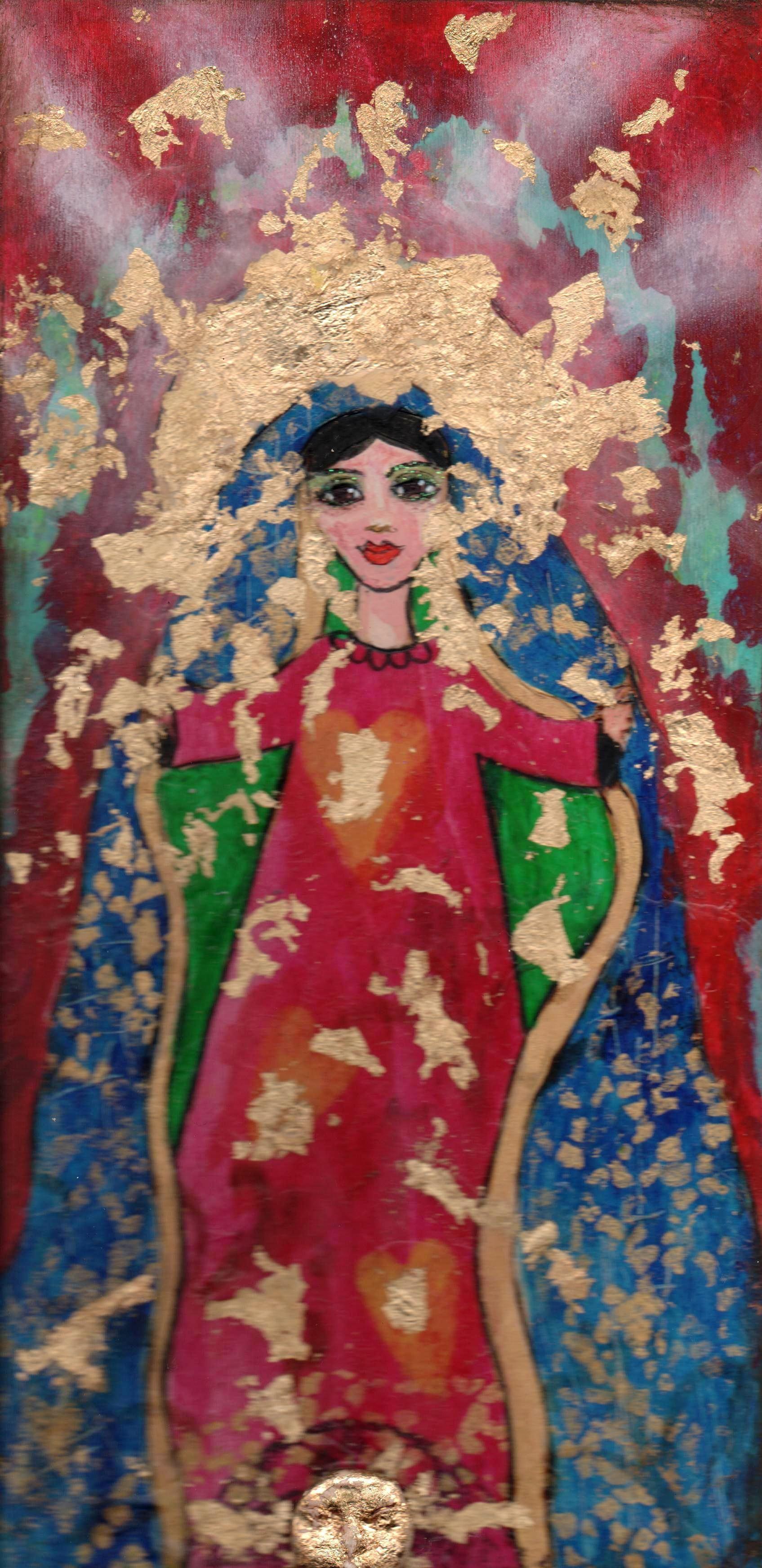 senora de guadalupe ✶ La virgen~Shattered Halo by Yoli Manzo