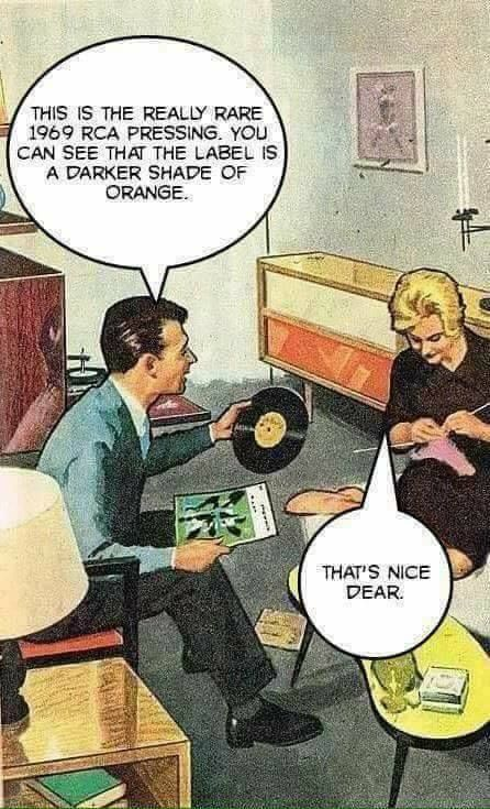 Exactly Vinyl Record Collecting Memes Cartoons