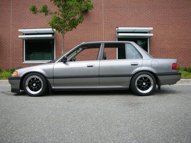 1990 honda civic sedan fifth car gray lx like this one. Black Bedroom Furniture Sets. Home Design Ideas