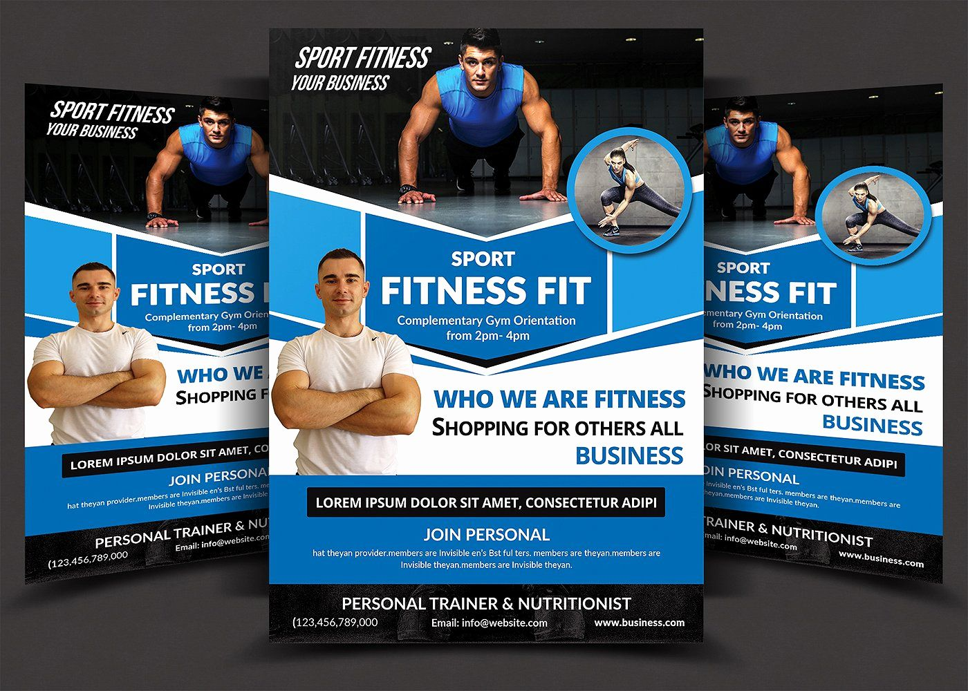 Personal Trainer Flyers Examples Impressive Personal Trainer