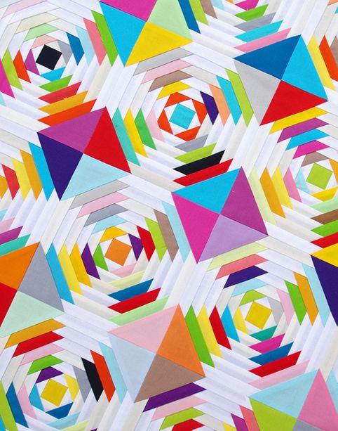 Tutorial - Scrappy Pineapple Quilt Block and Foundation Paper ... : pineapple block quilt pattern - Adamdwight.com