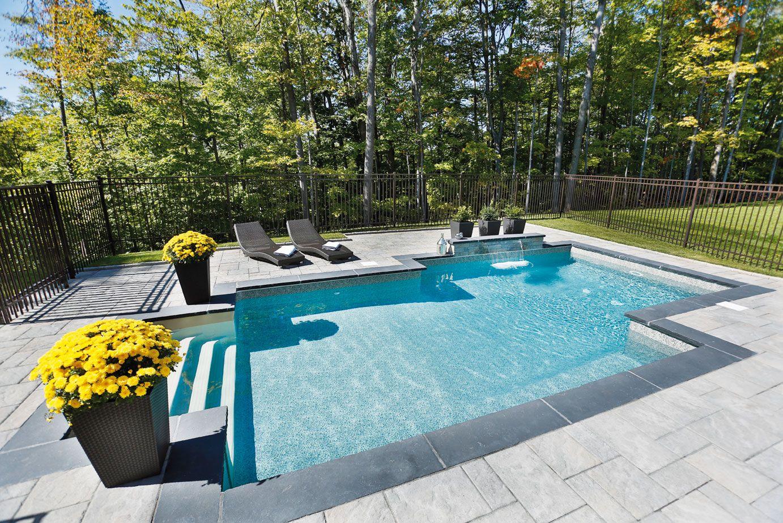 Pingl par piscines tr vi sur piscines creus es en 2018 pinterest piscine piscine creus e - Amenagement exterieur piscine creusee ...