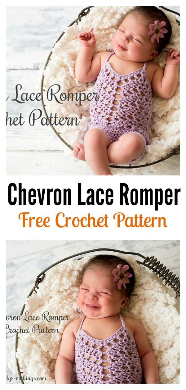 Crochet Baby Romper Free Patterns Lace Romper Free Crochet And