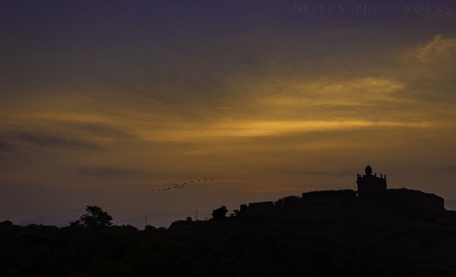 Sunrise At Raigad Fort. by nestonsimoes on 500px