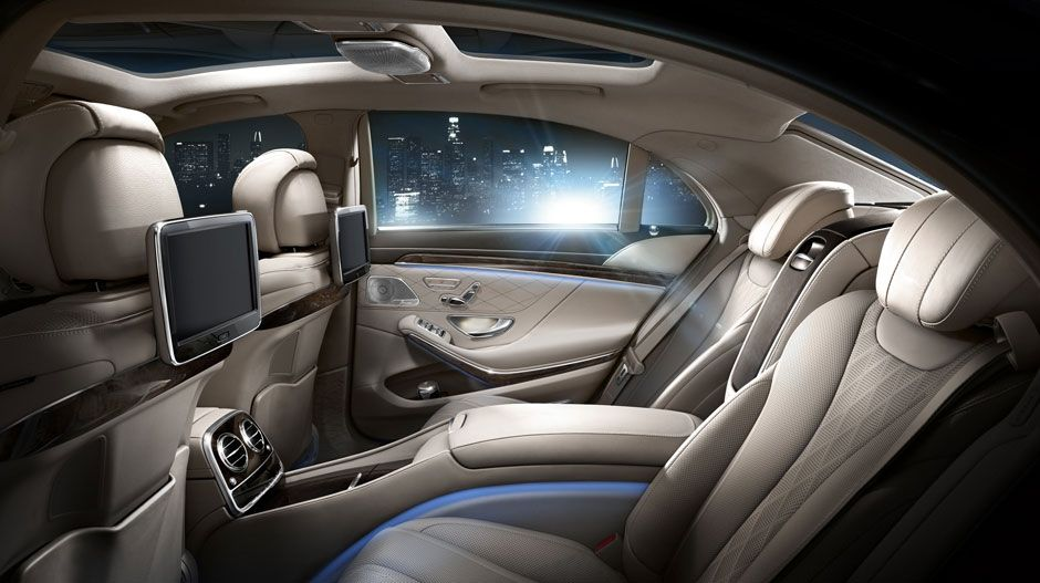 2014 Mercedes Benz S Class Rear Seats With Images Mercedes