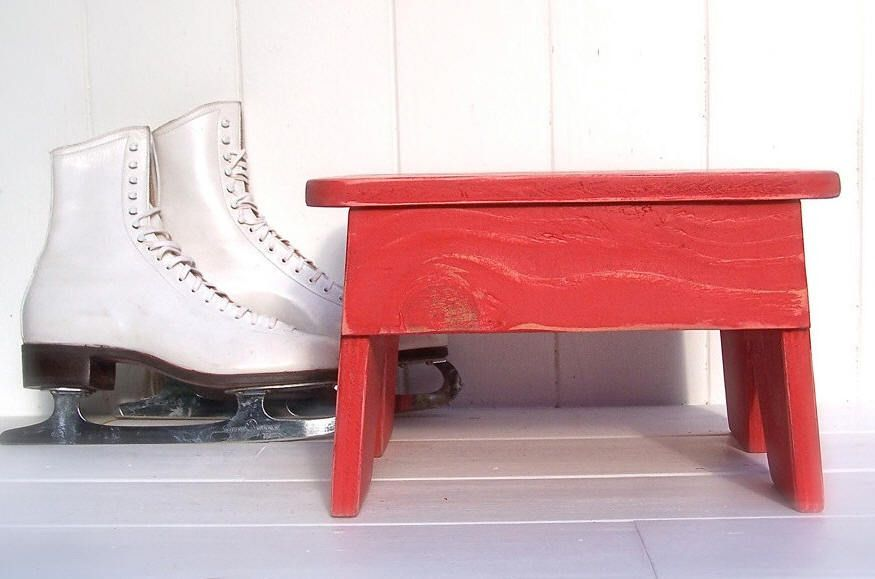 My Step Stool - Vintage Style No. 3 Step Stool, $54.99 (http://www.mystepstool.com/vintage-style-no-3-step-stool/)