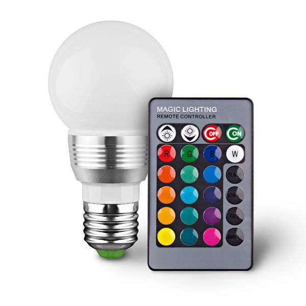 Led Remote Controlled Color Changing Light Bulb Color Changing Light Bulb Color Changing Lights Led Light Bulb