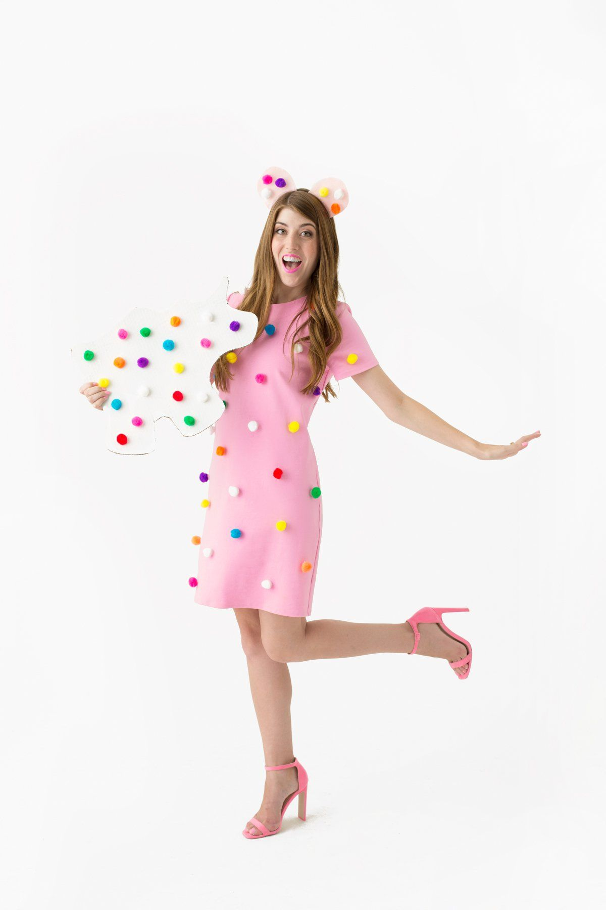 DIY Frosted Animal Cookie Costume | Cookie costume, Costumes and ...