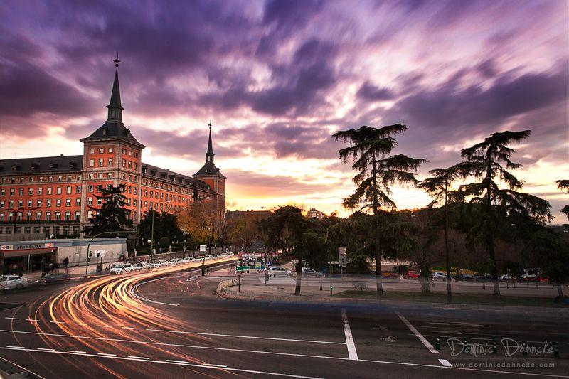 Atardecer en Moncloa (Madrid) - Dominic Dähncke