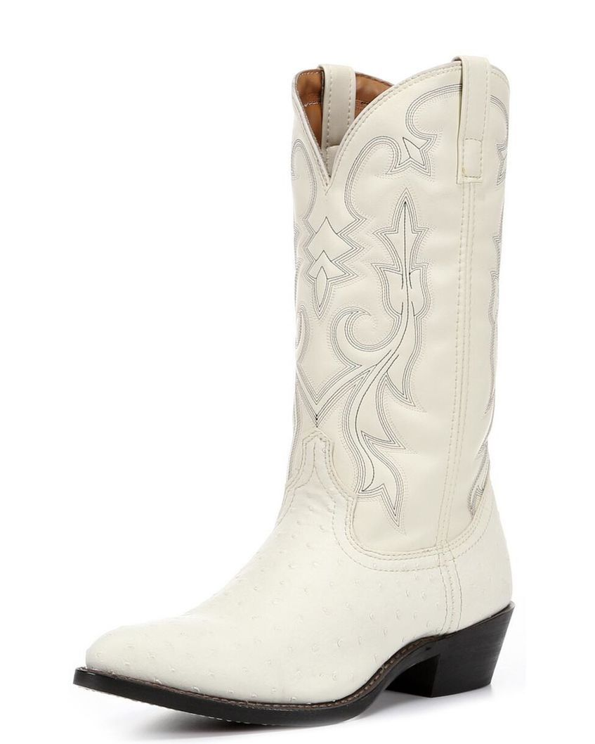 9c527a1af9a Men's Ostrich Dallas Boots - White,   Boots for Ced in 2019   Mens ...