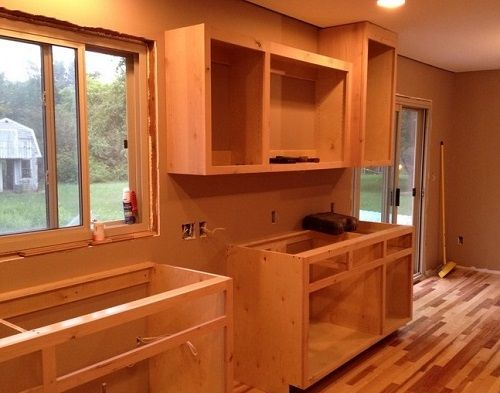 How To Build Kitchen Cabinets 5 Steps Home Decor Buzz Building Kitchen Cabinets Simple Kitchen Cabinets Kitchen Cabinet Plans
