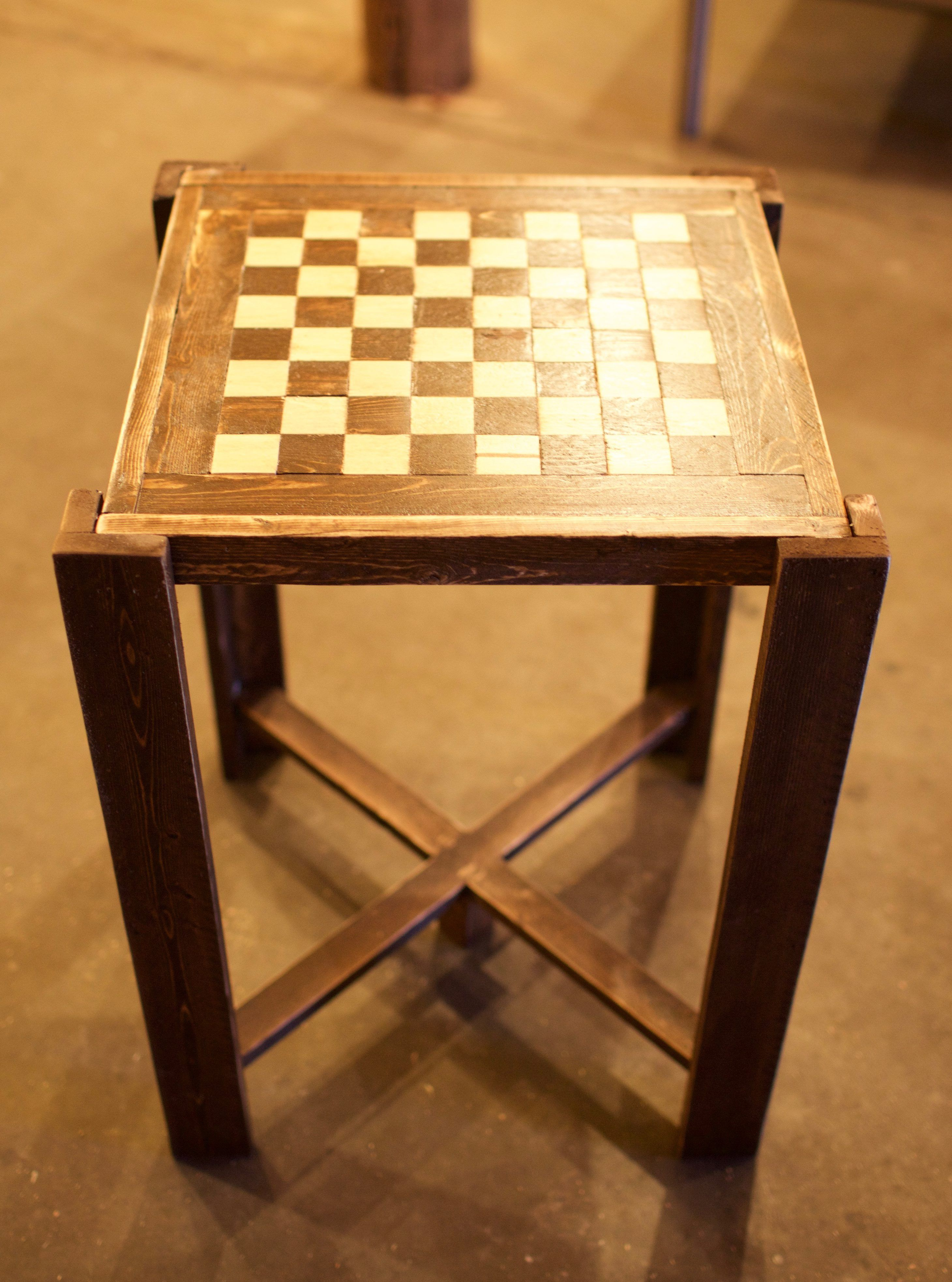 Diy Chess Board Table Plans By Sunnyand79 In 2019 Chess