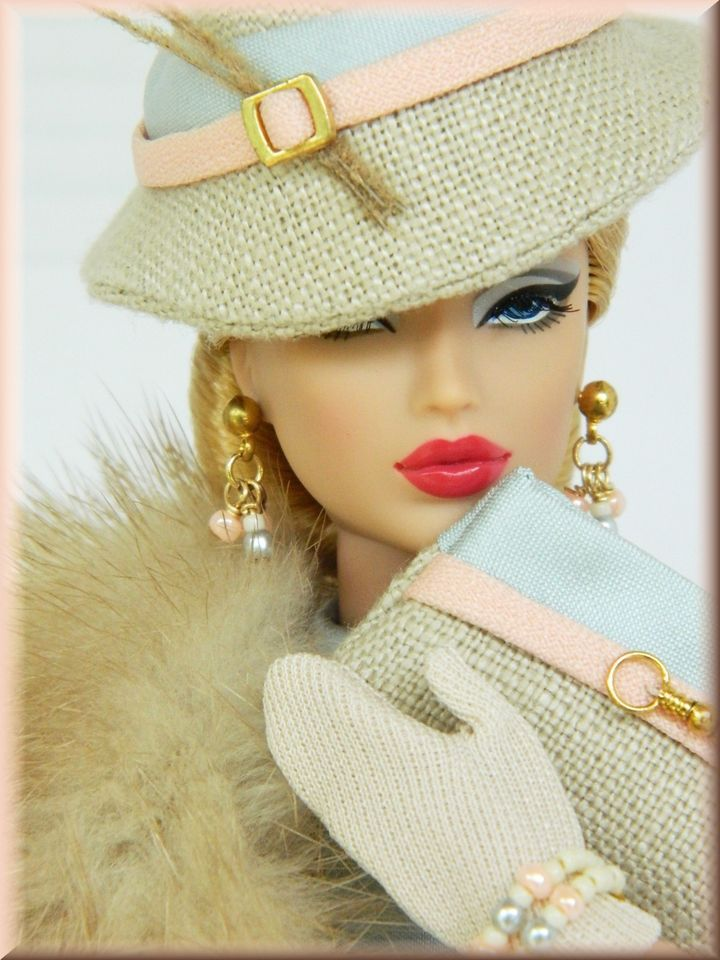 *And Into Fall* OOAK Handmade Fashion for Royalty & Silkstone Barbie~Joby